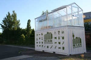 ECF Berlin Container Farm